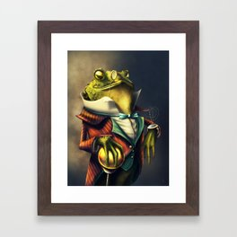 Country Club Collection #6: A Time Piece Fit For A Toad Framed Art Print