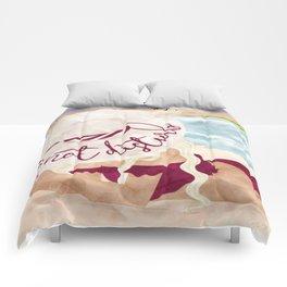 Do Not Disturb Beach Girl Comforters