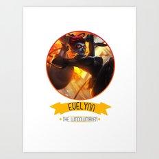 League Of Legends - Evelynn Art Print