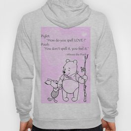 Pooh -  Spell Love... 15 Hoody