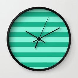 Fresh Fashion Green Wall Clock