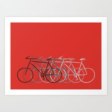 Just bike Art Print