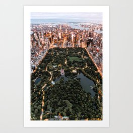Central Park New York Art Print