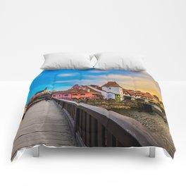 Cesky Krumlov HDR Comforters
