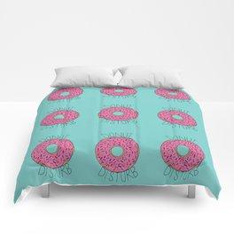 Donut Disturb Comforters