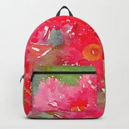 Gum Blossom Flowers Backpack