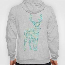 Electric Deer Art Hoody