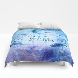 Hope is the thing with feathers Comforters