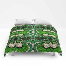 art retro pattern Comforters