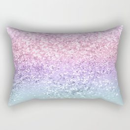 Unicorn Girls Glitter #1 #shiny #pastel #decor #art #society6 Rectangular Pillow