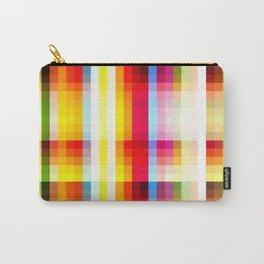 classic multicolored retro pattern Carry-All Pouch