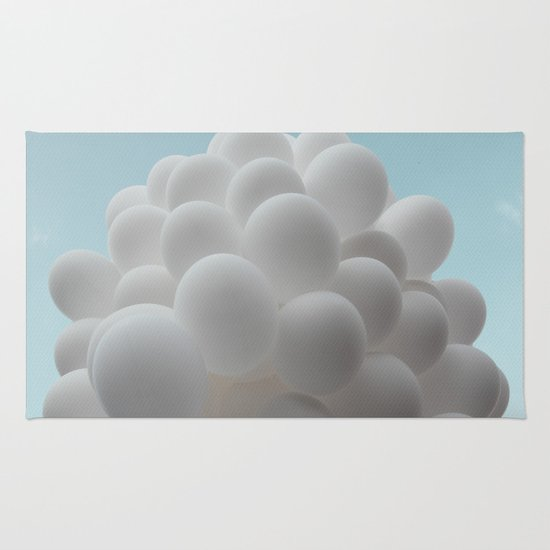Lighter than air - balloons Rug