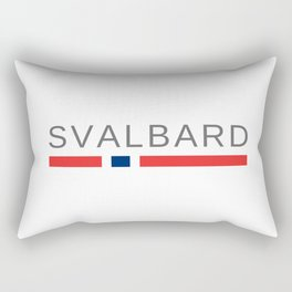 Svalbard Norway Rectangular Pillow