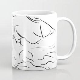 Minas - Minimal Female kiss Coffee Mug