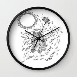 Sun-Ray Skimmer Wall Clock