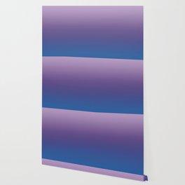 Ultra Violet Blue Lilac Ombre Gradient Pattern Wallpaper