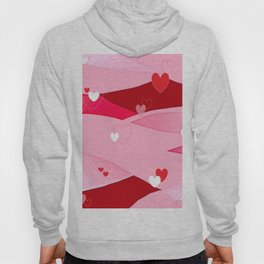 Hearts and Waves Hoody