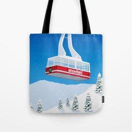 Snowbird Ski Resort Tote Bag