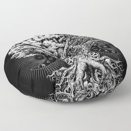 The Tree of Life Floor Pillow