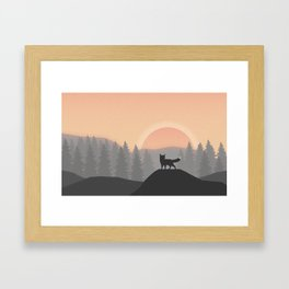 Golden Hour  Framed Art Print
