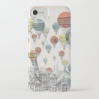 fashion iPhone & iPod Cases featuring Voyages over Edinburgh by David Fleck