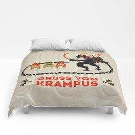 Gruss vom Krampus Comforters