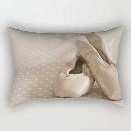 Dance en pointe Rectangular Pillow