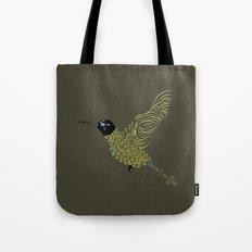 Abstract Hummingbird Tote Bag