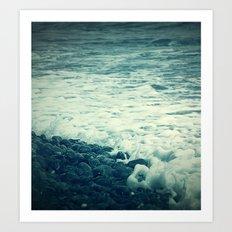 The Sea V. Art Print