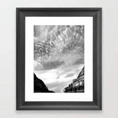 Canyon Sky Framed Art Print