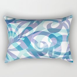 Floral abstract background G21 Rectangular Pillow