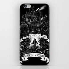 School of Witchcraft and Wizardry iPhone & iPod Skin