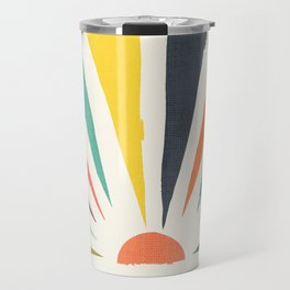 Rainbow ray Travel Mug