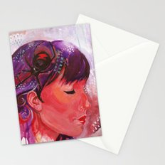 black widow Stationery Cards