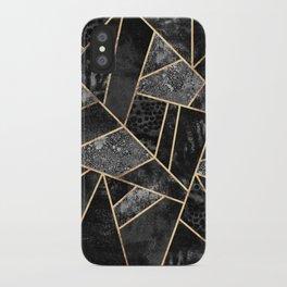 Black Stone 2 iPhone Case