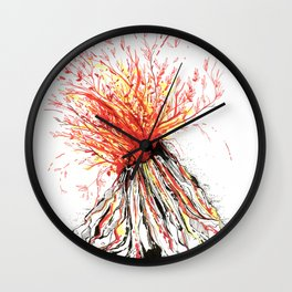 Self Destruction Wall Clock