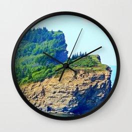 Cliffs of Perce Wall Clock