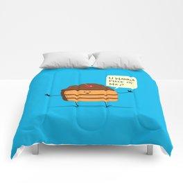 Trouble Baker Comforters