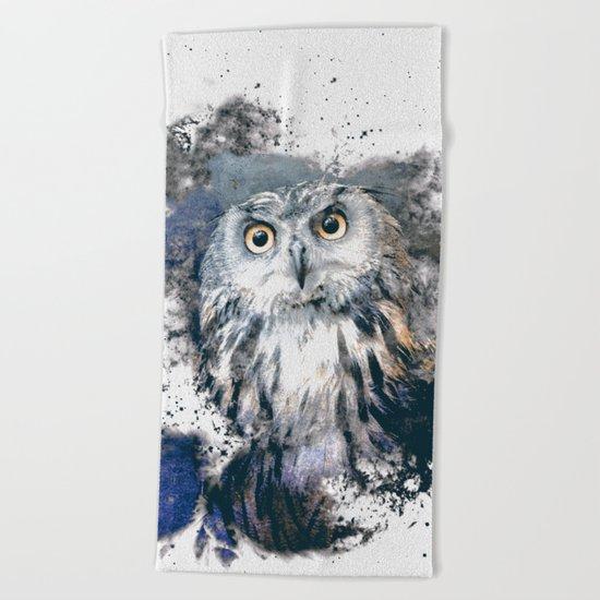 OWL 2 Beach Towel