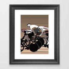 Velodrome Framed Art Print
