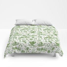 "Zelda ""Hero of Time"" Toile Pattern - Kokiri's Emerald Comforters"