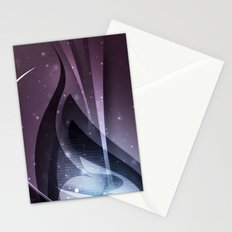 Purple fantasy cover Stationery Cards