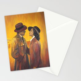 Casablanca film poster - The End Stationery Cards