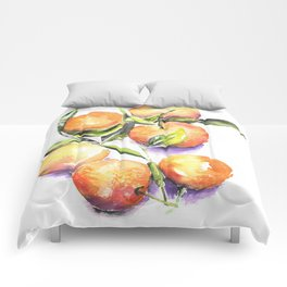 Sweet Clementines Comforters