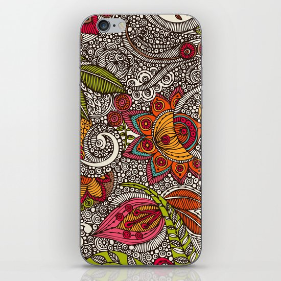 Random Flowers iPhone & iPod Skin