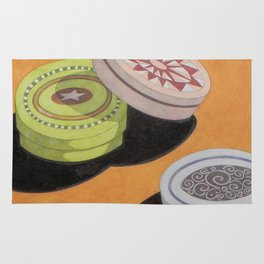Small bowls n. 3 Rug