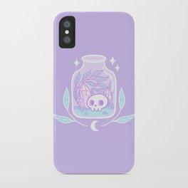 Pastel Terrarium iPhone Case