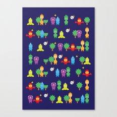 Dinosaurs! Canvas Print