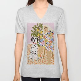 The Chaotic Life Unisex V-Neck