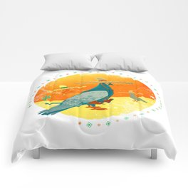 Feathers and bullets Comforters
